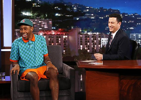 Tyler the Creator in Jimmy Kimmel Live